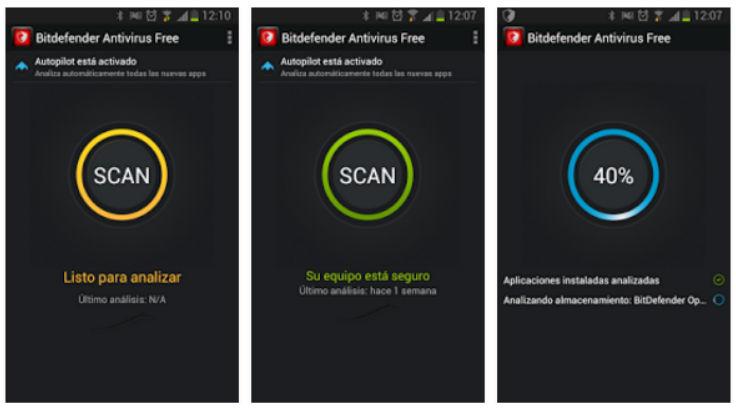 Antivirus para android Bitdefender