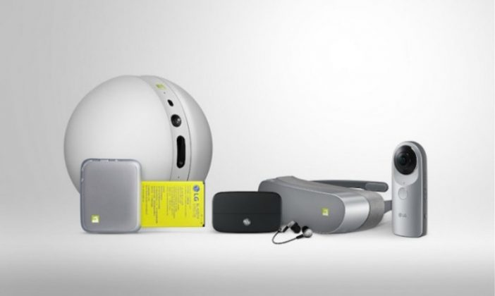 LG Accesorios Mobile World Congress