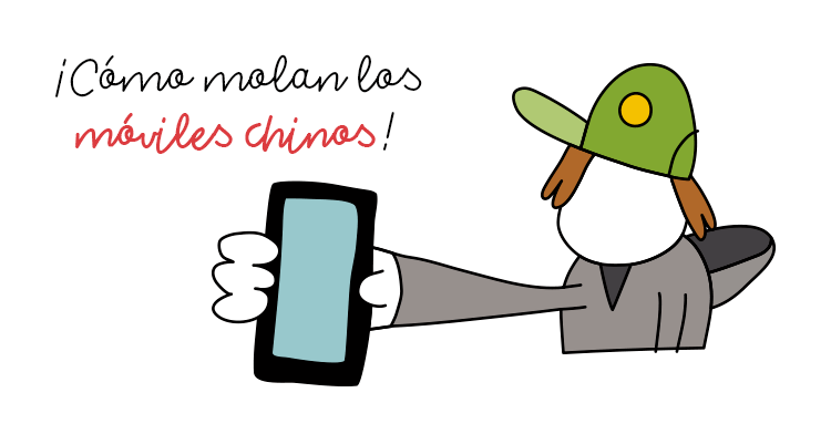Móviles chinos por menos de 100 euros