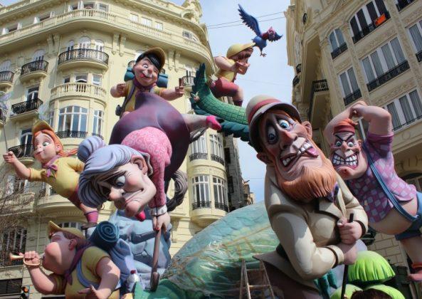 Aplicaciones para las Fallas de Valencia