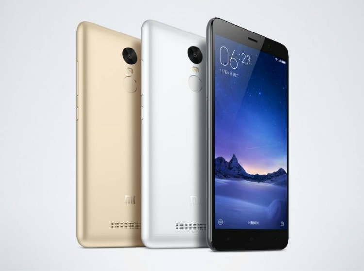 iaomi Redmi Note 3
