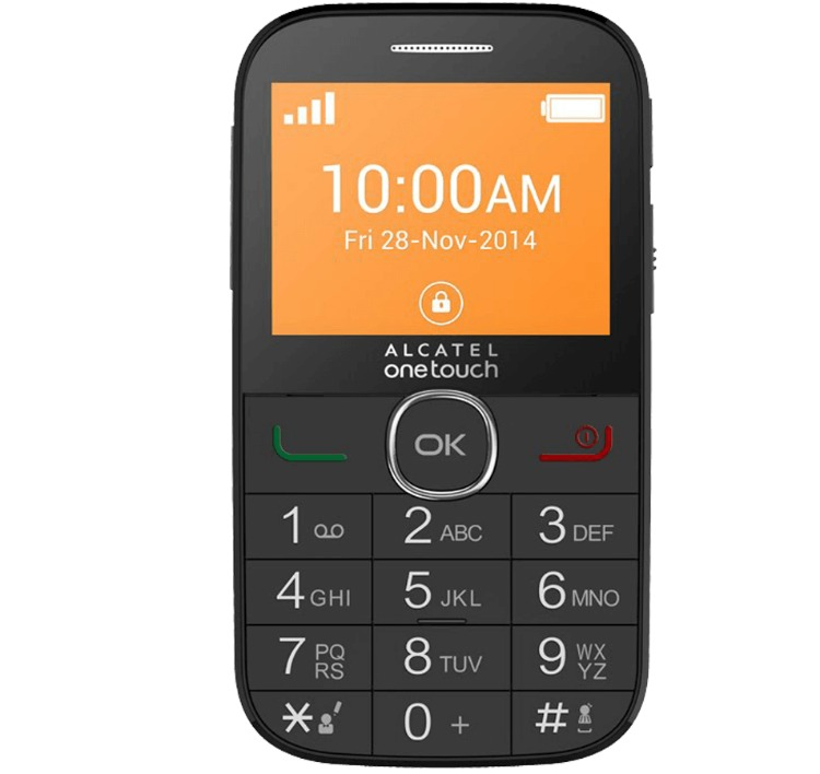 Móviles simples para los más mayores Alcatel OneTouch 2004C