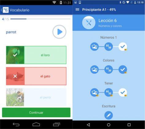 Aplicaciones gratuitas para aprender inglés Bussu