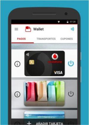 ¡Paga con tu Smartphone de forma muy simple! Vodafone Wallet