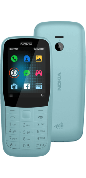 Móvil sencillo Nokia 220