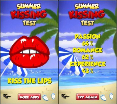 cómo saber si estás enamorada o enamorado con estas aplicaciones que te pondrán ñoño summer kissing test