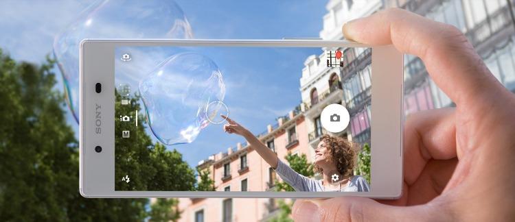Móviles con buena cámara para hacer fotos molonas Sony Xperia Z5
