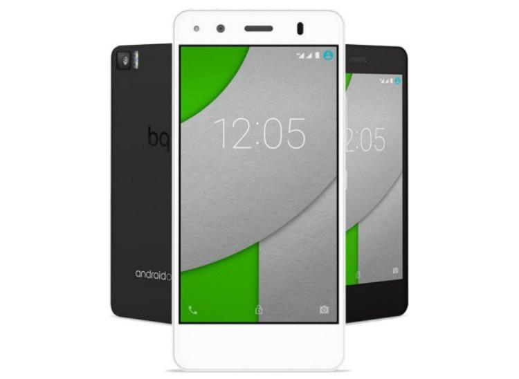 Móviles BQ buenos, bonitos y baratos bq-android-one
