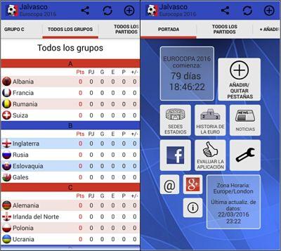 Las mejores apps para seguir la Eurocopa Euro 2016 Francia