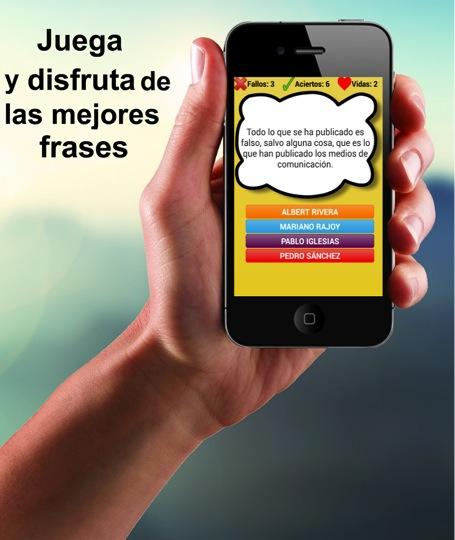 Aplicaciones para seguir las elecciones del 26 de junio Juego frases politicos