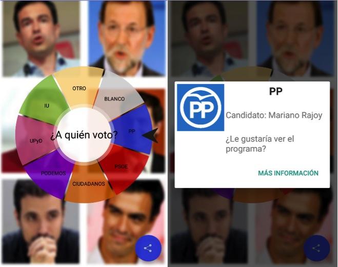 Aplicaciones para seguir las elecciones del 26 de junio Juego frases politicos Ruleta