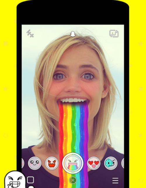 Si todavía no sabes cómo funciona Snapchat, ¡te lo contamos! pantallazo