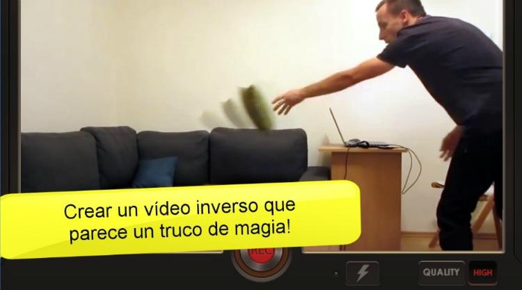 3 aplicaciones para hacer vídeos molones Vídeo inverso