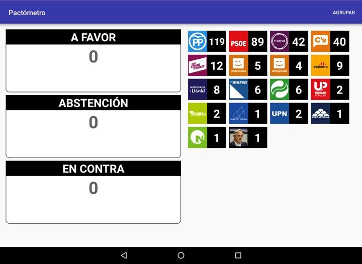 Aplicaciones para seguir las elecciones del 26 de junio pactometro