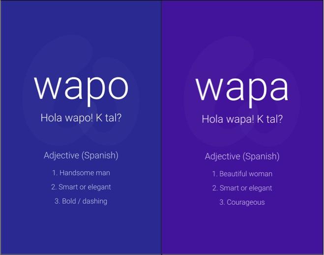 Aplicaciones para conocer gente wapo wapa