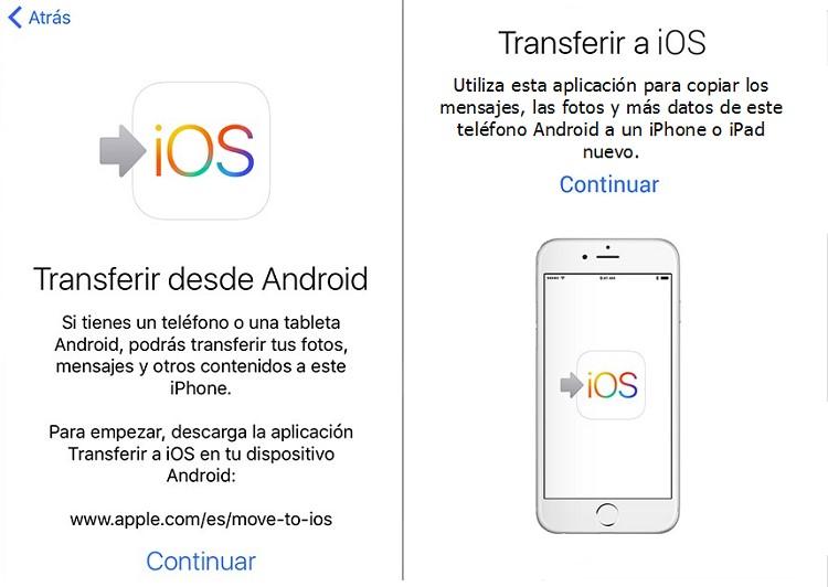 Cómo pasar tus contactos de iPhone a Android y de Android a iPhone