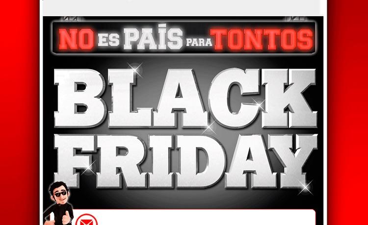 ¡Prepárate para el Black Friday!