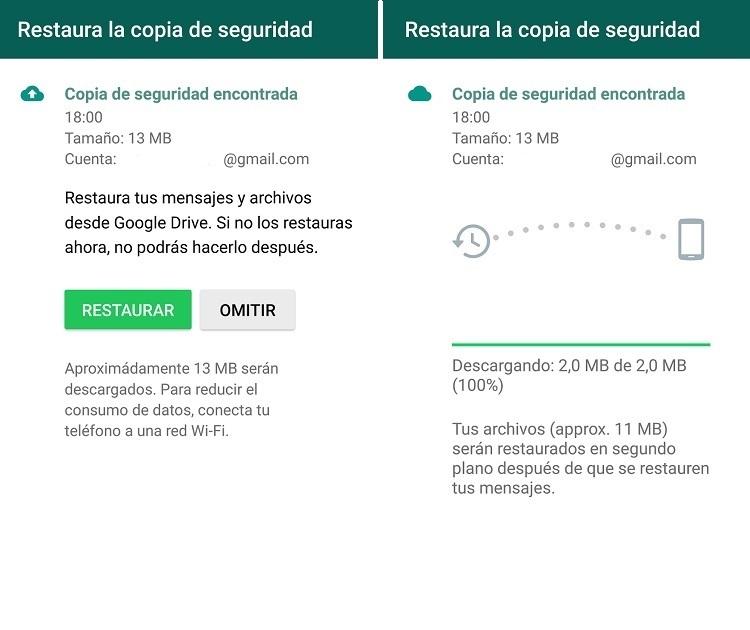 Como recuperar una conversacion de WhatsApp borrada