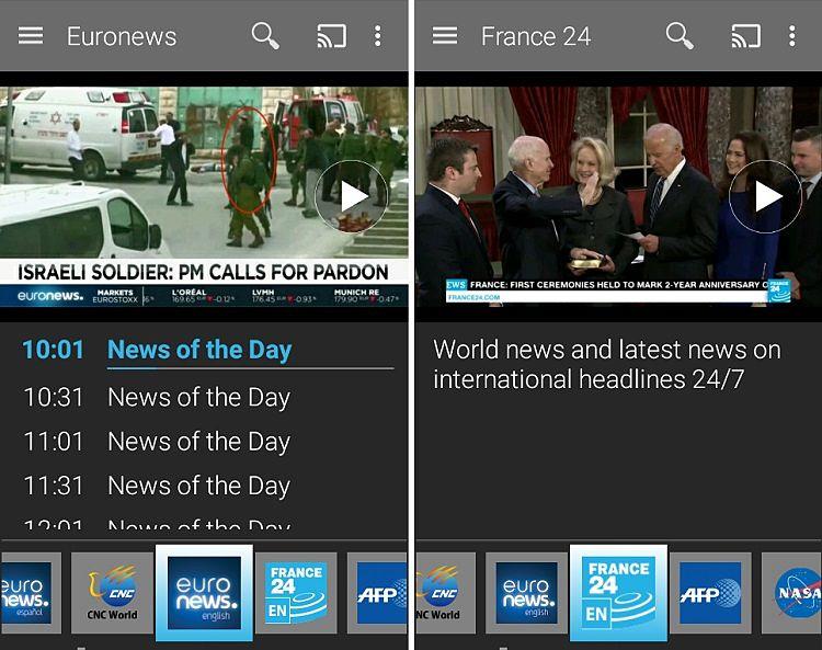Ver TV en el móvil con estas aplicaciones