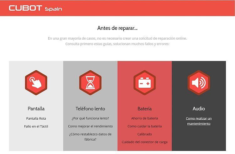 Los móviles chinos con servicio técnico en España