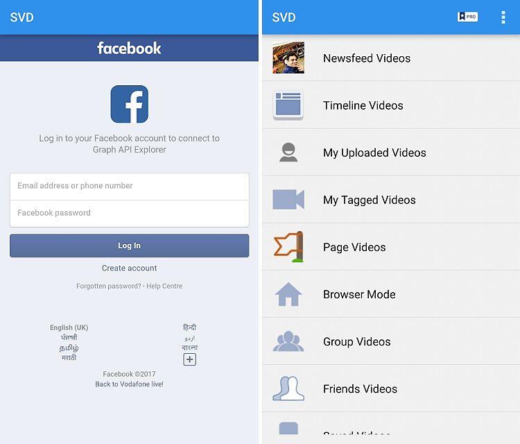 Cómo descargar vídeos de Facebook en Android y en iOS