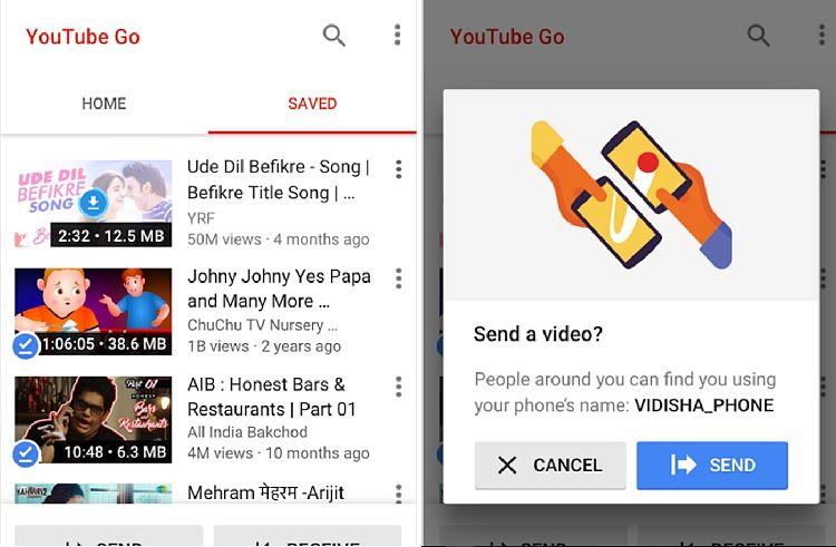 YouTube Go: la app para descargar vídeos de YouTube