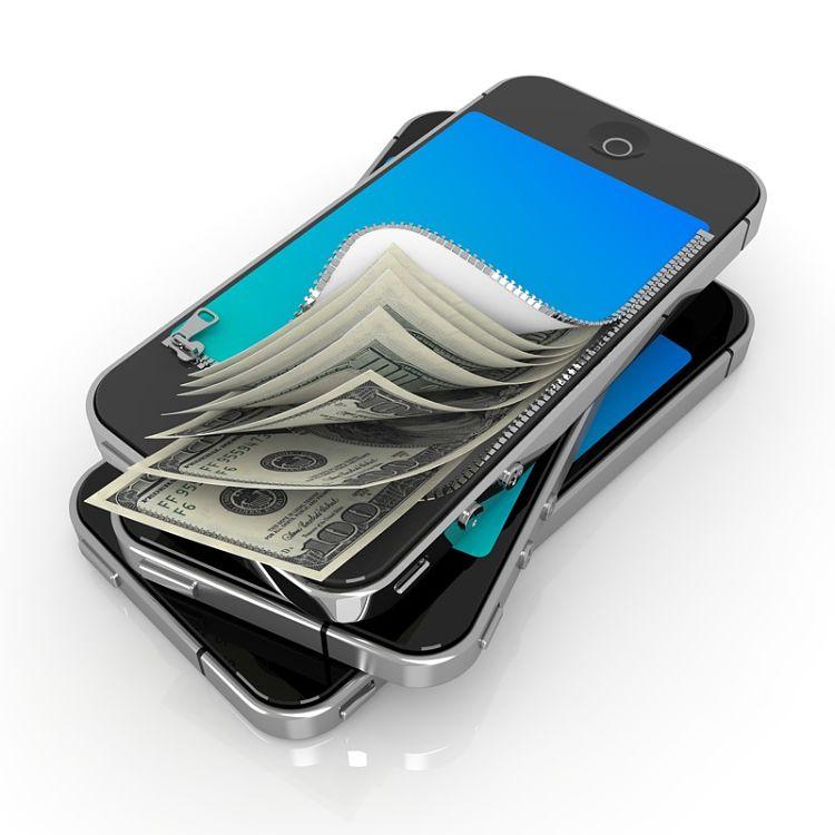 ¿Cuál es el margen de los precios de móviles?