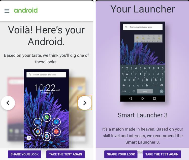 diseño personalizado android