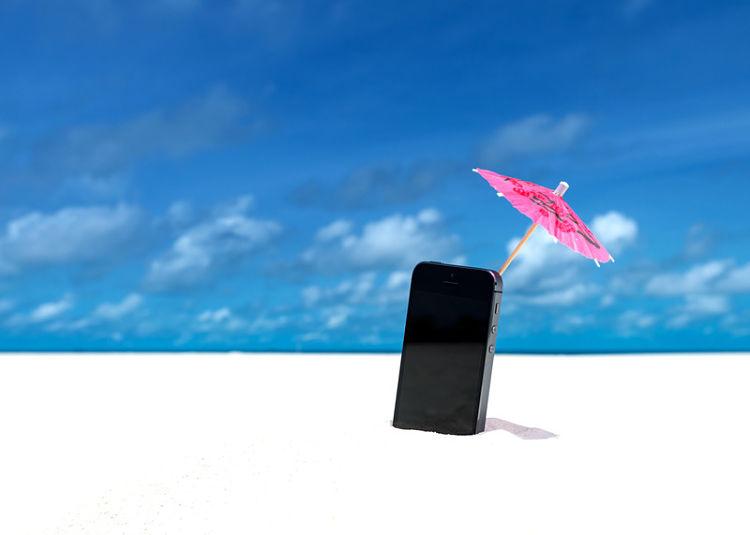 Cómo proteger tu móvil en la playa
