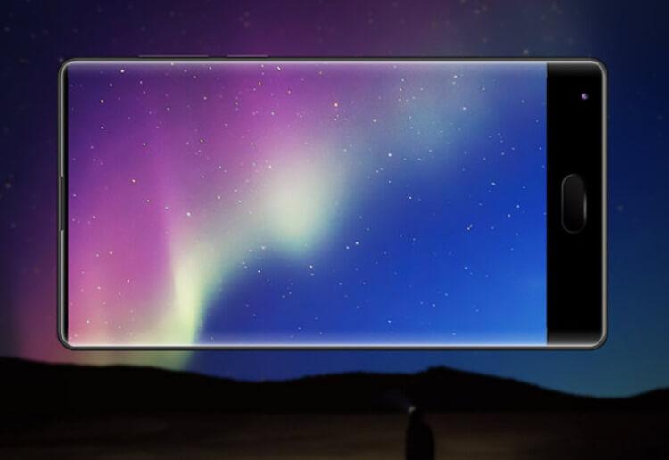 Móviles chinos con pantallas sin marco