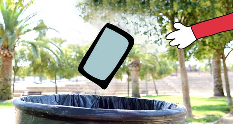 ¿Qué hacer con un Smartphone antiguo?