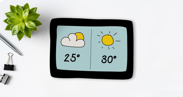 ¿Buscando el sol? ¡Las mejores aplicaciones de meteorología!