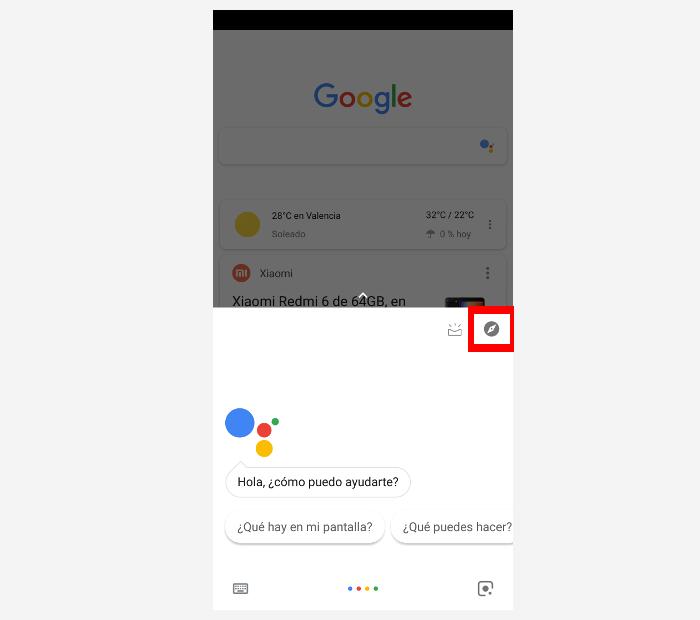desactivar google assistant paso 1