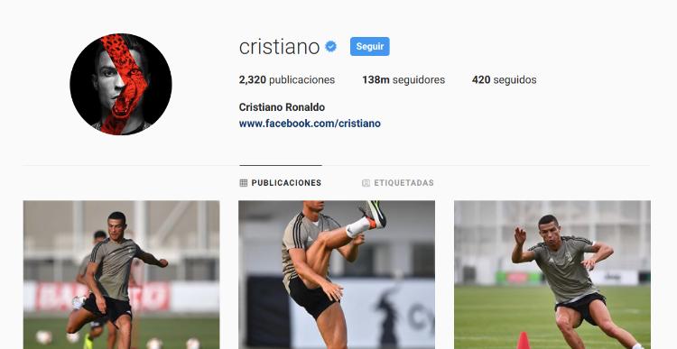 cuenta verificada en Instagram