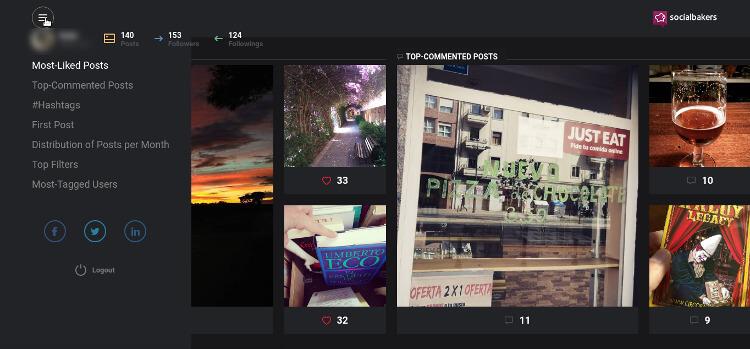obtener estadísticas en Instagram