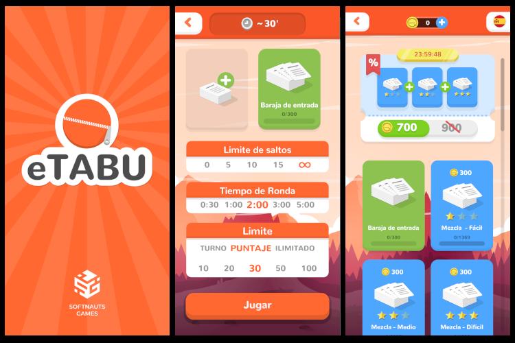 eTabú, el juego de Tabú móvil
