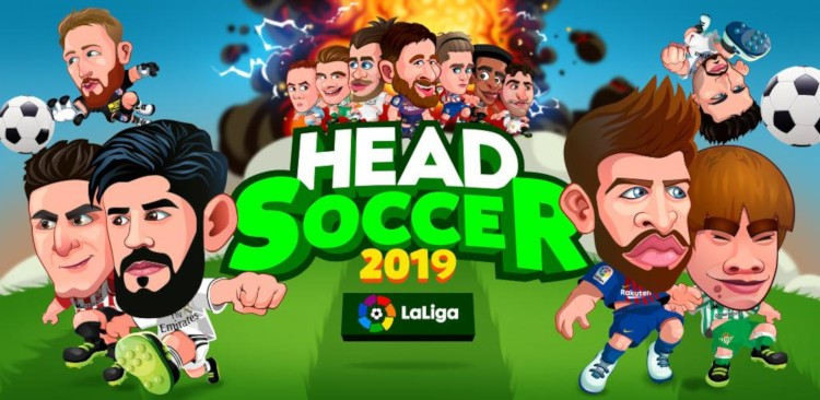 Captura de Head Soccer 2019