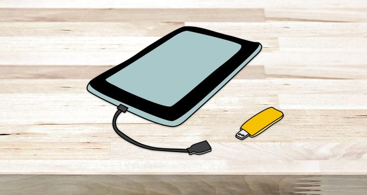 Cómo conectar un pendrive a tu móvil