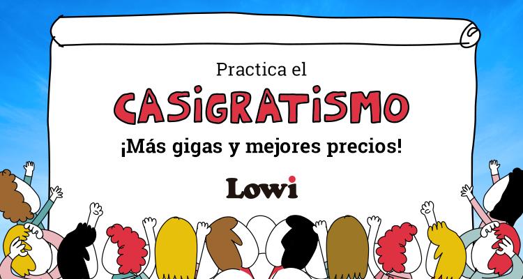 Promoción Lowi - Casi gratis