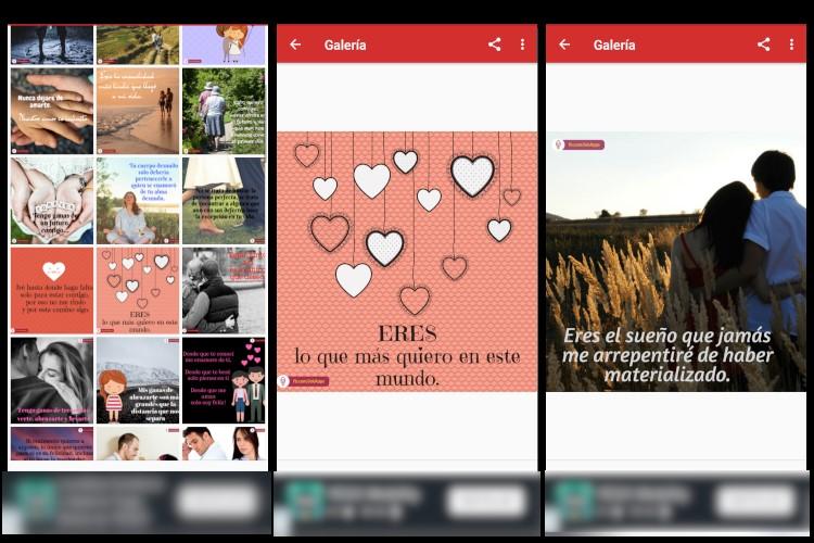 App imágenes de amor con frases