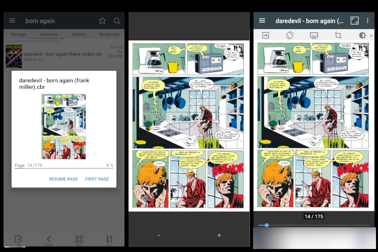 Comic Screen para Android