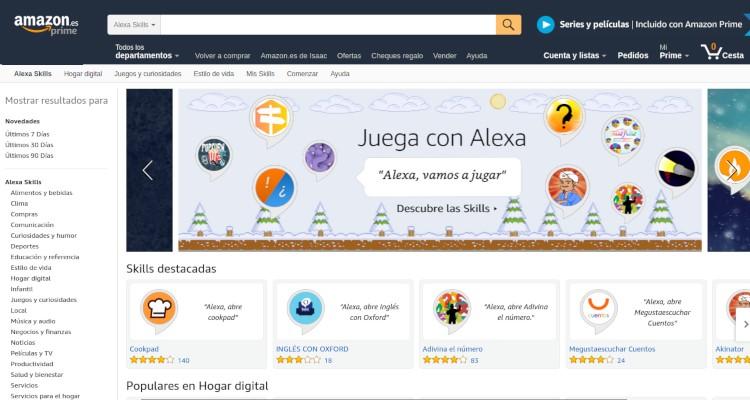 Skills en Amazon