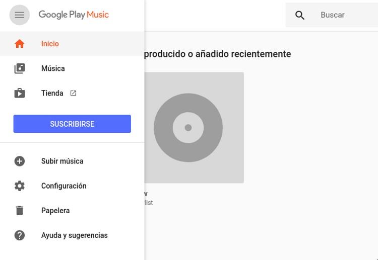 subir musica a google play music
