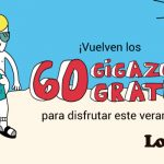 60 gigas gratis Lowi
