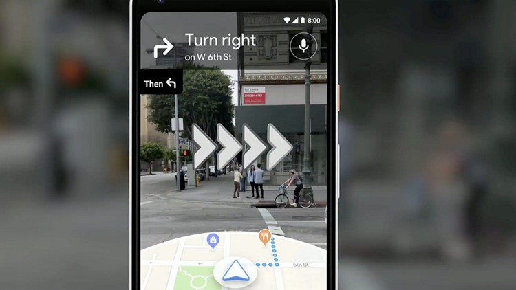 captura Google Maps AR