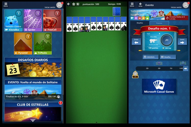 Captura de Microsoft Solitaire Collection