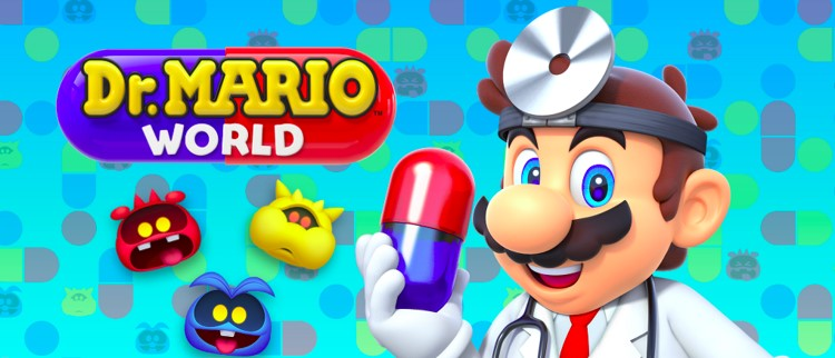 logo dr mario world