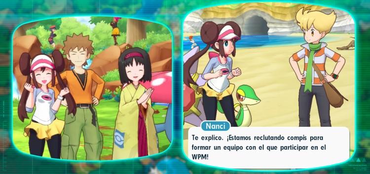 captura de Pokemon Masters