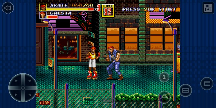 captura de streets of rage 2