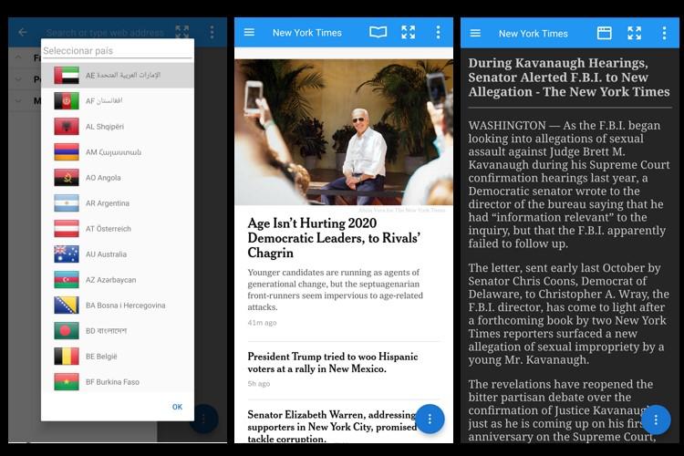 periodicos mundiales screenshot